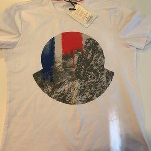 White Moncler Shirt